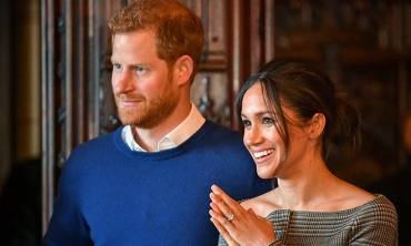 O príncipe Harry e Meghan Markle