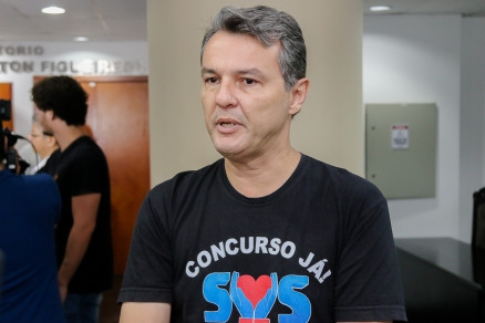 O sindicalista Oscarlino Alves: